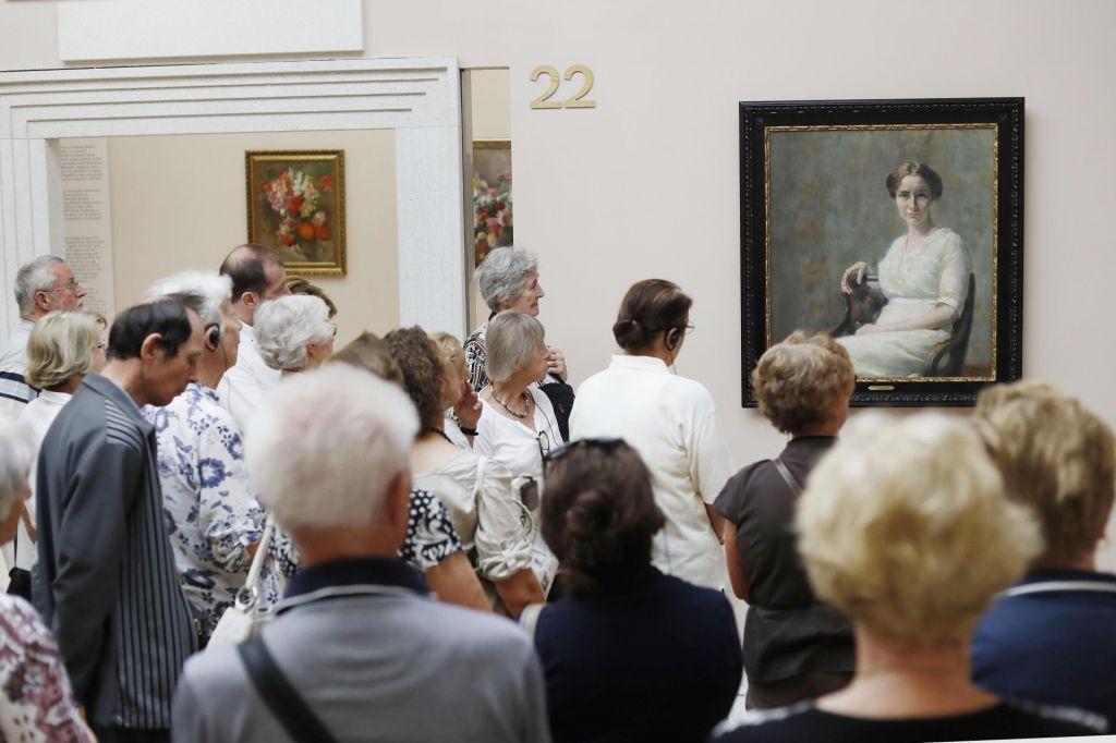 FOTO:Ivana Kobilca: prikaz velike slikarke, in ne umetnice z ženskim predznakom