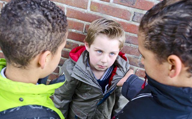 Medvrstniško nasilje ima lahko za otroka hude posledice. FOTO: Shutterstock