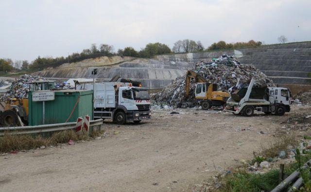 Del zemljišča komunalne deponije na Leskovcu je v lasti občine Šentjernej. FOTO: Bojan Rajšek/Delo