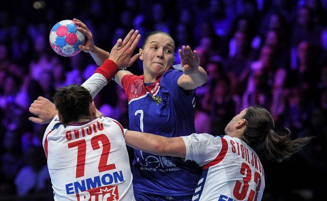 Darja Dmitrijeva je bila najbioljša strelka za Rusinje proti Srbiji. FOTO: AFP