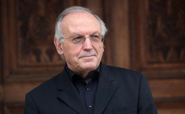 Dr. Anton Stres bo<em> Leksikon filozofije</em> predstavil jutri v Domu sv. Jožefa v Celju. FOTO: Mavric Pivk/Delo