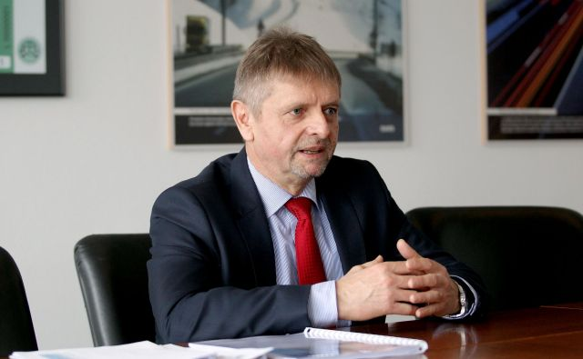 Predsednik uprave Darsa Tomaž Vidic FOTO: Roman Š�ipić/Delo