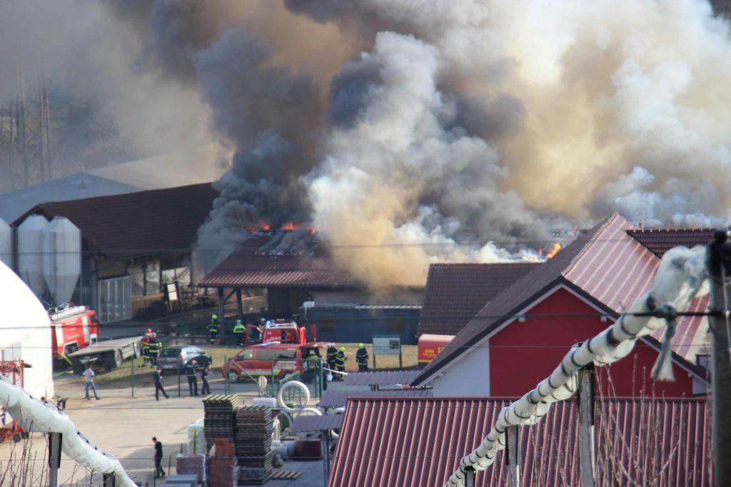 V srednješolskem centru Grm kljub požaru v ponedeljek reden pouk