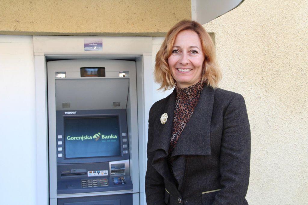 Bankomat Gorenjske banke ostaja v Osilnici