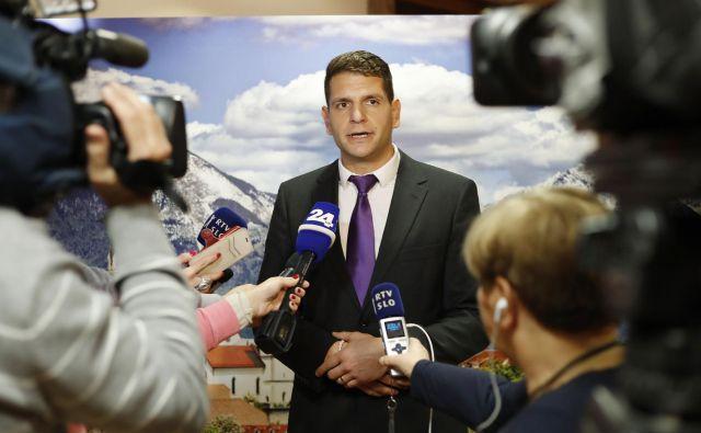 Zoran Stevanović je kranjski mestni svetnik in lanski kandidat za župana. FOTO: Leon Vidic/Delo