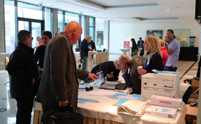 V Unionski dvorani se je zbralo več strokovnjakov za konopljo iz sveta. FOTO: Črt Piksi