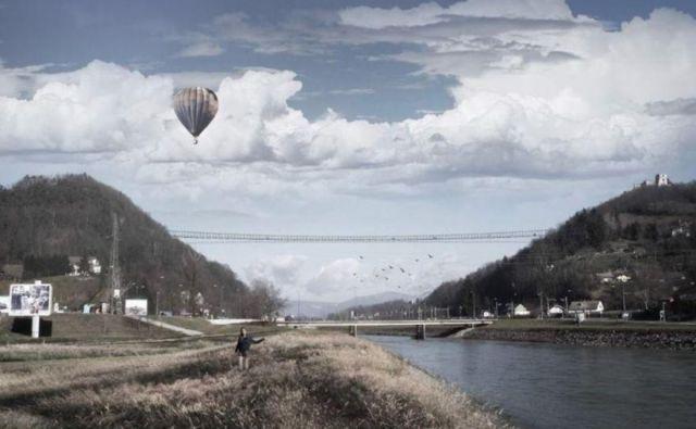 Jeklena brv okoli sto metrov nad tlemi bi bila s 505 metri dolžine med najdaljšimi na svetu. FOTO: MOC