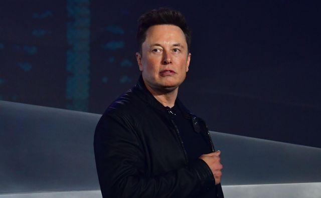 Soustanovitelj in direktor Tesle Elon Musk se bo decembra na sodišču zagovarjal zaradi klevetanja Vernona Unswortha. FOTO: Frederic J. Brown/AFP