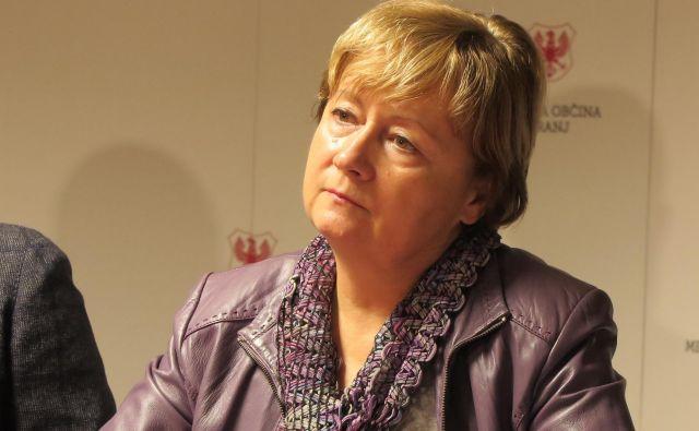 Vera Zevnik, direktorica Domplana, se ne čuti odgovorne za uhajanje plina v Britofu. FOTO: Špela Ankele