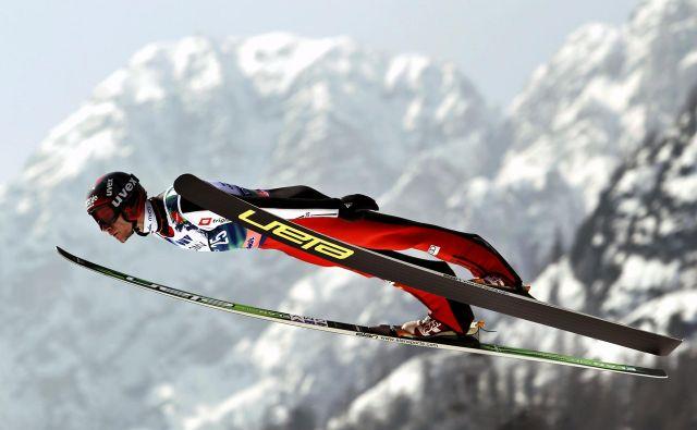 Najvišjo slovensko uvrstitev na svetovnih prvenstvih v Planici si iz leta 2010 lasti Robert Kranjec. FOTO: Matej Družnik