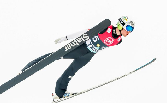 An�že Lani�šek je prispeval pomemben delež k tretjemu mestu Slovenije na Holmenkollnu. FOTO: AFP