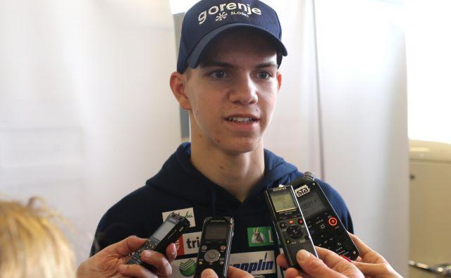 Žak Mogel je eden od štirih članov zlate slovenske mladinske ekipe. FOTO: Tomi Lombar