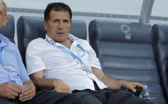 Trener Gorice Borivoj Lučić je pozimi pozdravil tri okrepitve iz tujine. Foto Leon Vidic