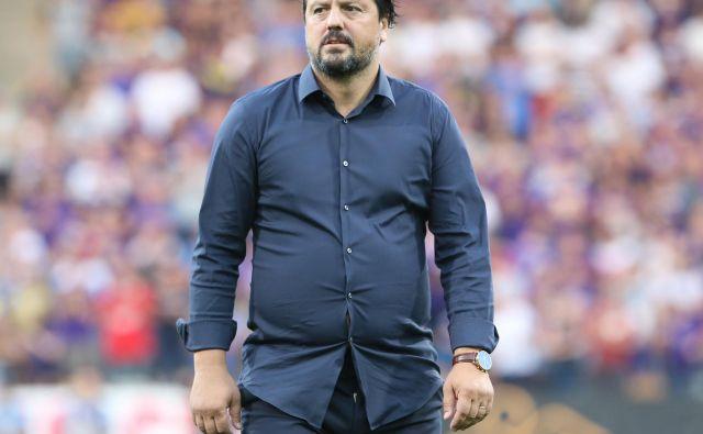 Športni direktor Zlatko Zahović čaka na odločitev vodstva kluba o izbiri novega trenerja in lastni usodi v klubu. FOTO: Tadej Regent