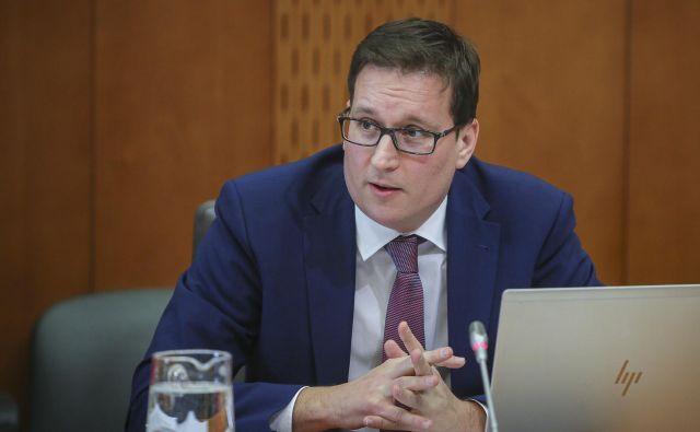 Pravnik Boštjan Koritnik je kandidat za ministra za javno upravo. Foto Jože Suhadolnik