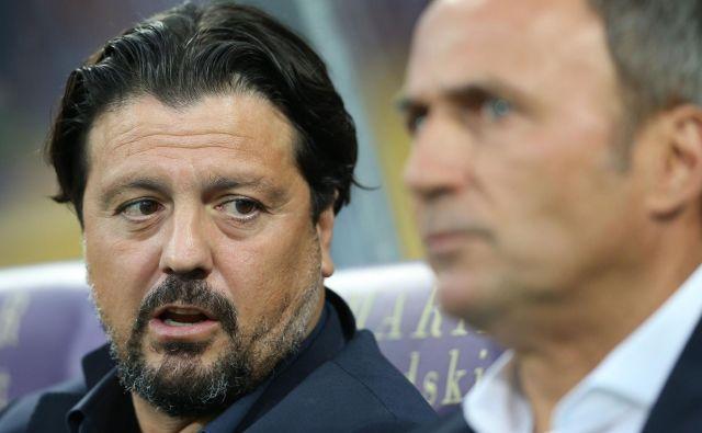 Zlatko Zahović in Darko Milanič sta se poslovila od Maribora, navijači pa iščejo »krivca z imenom in priimkom«. FOTO: Tomi Lombar