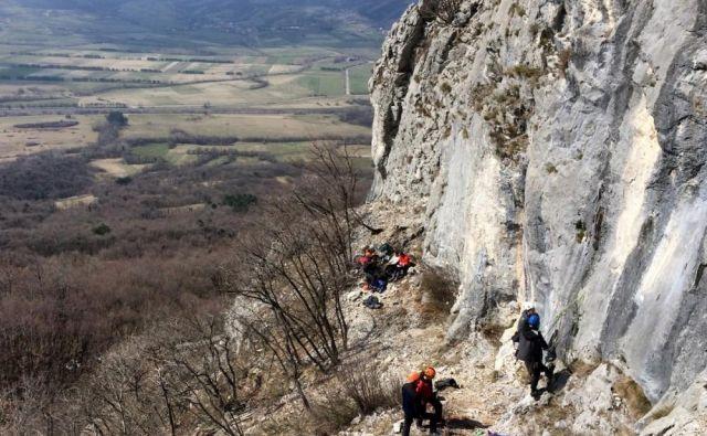 Ne le planinske koče, tudi naravna plezališča po Sloveniji so zaprta. FOTO: Manca Ogrin