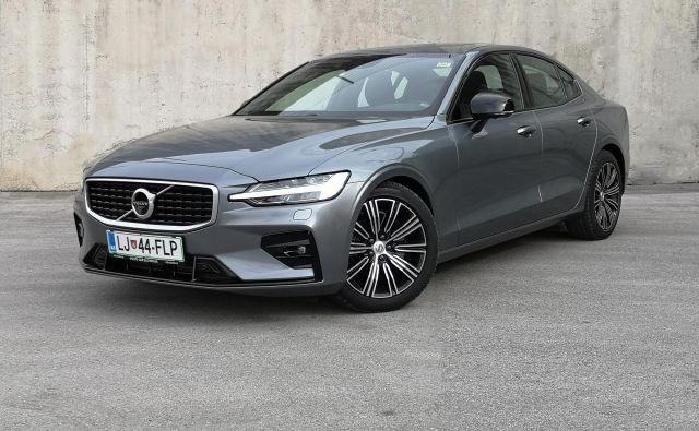 Volvo S60 R-design ne razglaša, kaj zmore, je le diskretno eleganten. Foto Gregor Pucelj