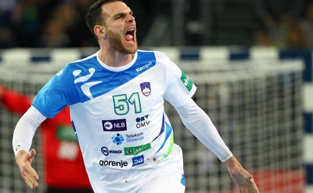 Borut Mačkovšek je eden od ključnih mož v slovenski reprezentanci. FOTO: Reuters