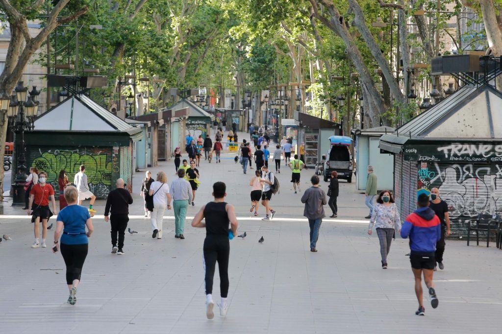 Rana ura, zlata ura: Vrvež se je vrnil na barcelonskoRamblo