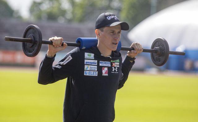 Peter Prevc si želi, da bi na takšni ravni, na kakršni je marca tekmoval na severu Evrope, skakal do konca svoje športne poti. FOTO: Voranc Vogel