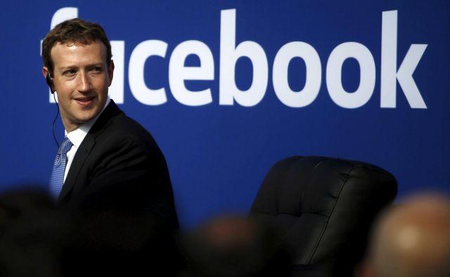 Zuckerberg je kritiziral potezo Twitterja proti svojemu najbolj znanemu uporabniku predsedniku Donaldu Trumpu. FOTO: Stephen Lam/Reuters