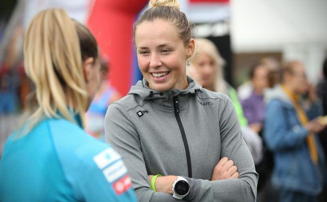 Čeprav je bila za Anamarijo Lampič najuspešnejša zima doslej, se je minus slovenskega teka na smučeh še povečal. FOTO: Jure Eržen/Delo