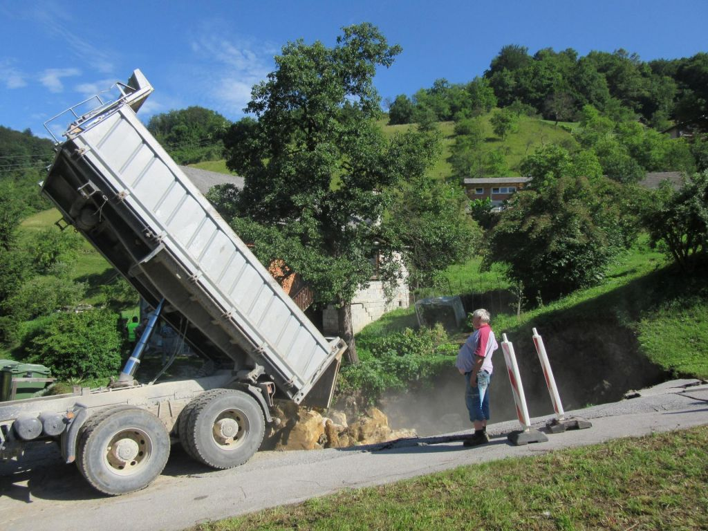 FOTO:Zaradi rudniških rovov ostali brez hiše