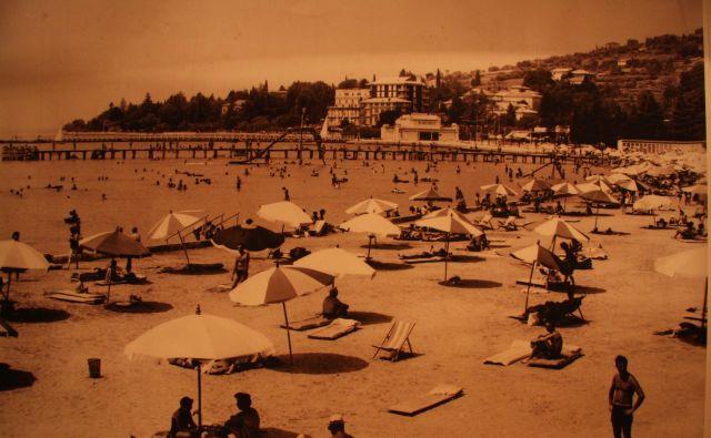Pred desetletji je bil Portorož prav tako zelo »naš«. Foto Boris Šuligoj