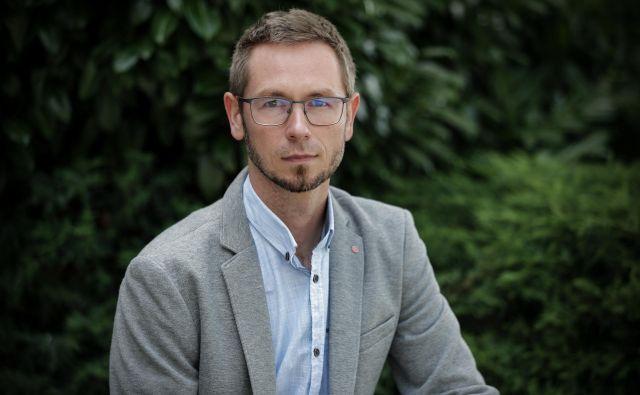 Denis Sahernik trdno verjame v argumente, ki jih zagovarja. Foto Uroš Hočevar