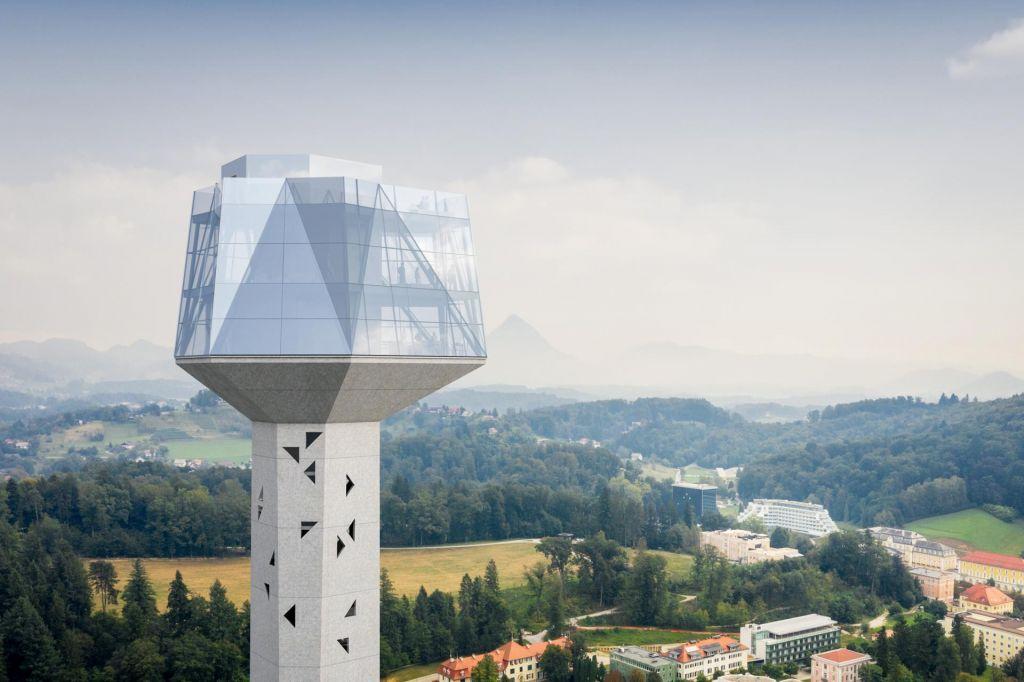Razgledni stolp tudi uradno v prostorskem načrtu