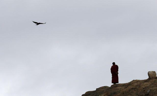 V Indijo se je odpravil brez vsakega cilja, trdi, a se je povsem naključno znašel v Dharamsali, kjer živi dalajlama in tudi velika kolonija prebeglih Tibetancev. FOTO: Kim Kyung Hoon / Reuters