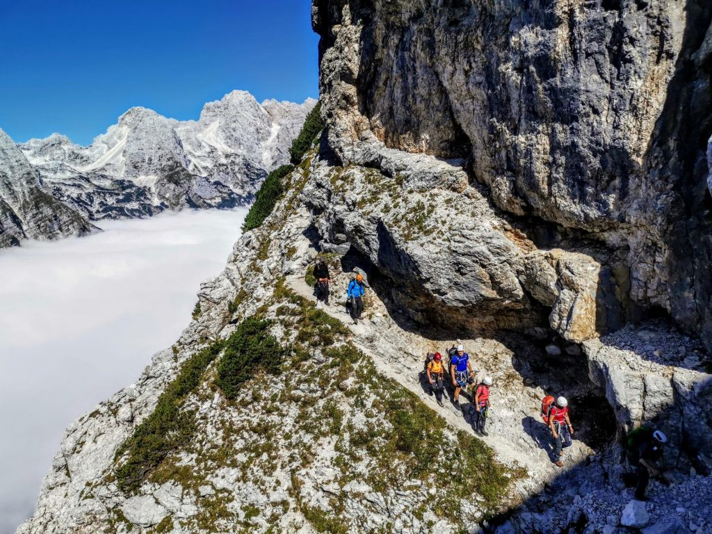 FOTO:Nazaj k osnovam: grem v gore, imam nahrbtnik