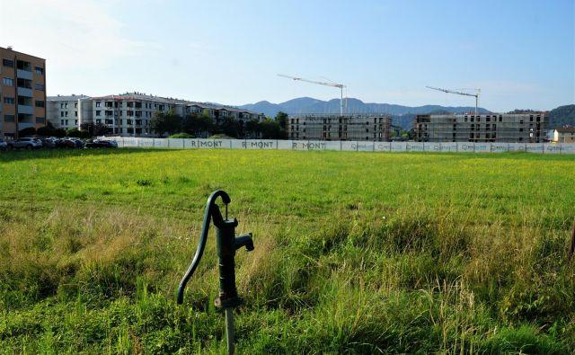 V stanovanjski soseski Dečkovo naselje raste šest stanovanjskih blokov, kar bo stalo 14 milijonov evrov. FOTO: Brane Piano
