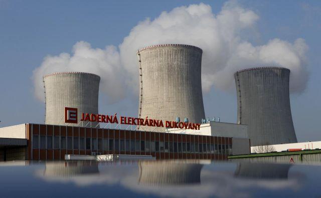 Na Češkem nameravajo posodobiti jedrsko elektrarno Dukovany. FOTO: Petr Josek/Reuters