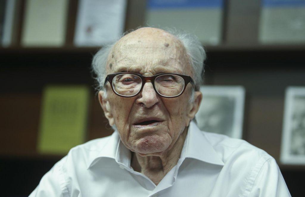 Piazza B. Pahor in ljubezen pri skoraj 107 letih