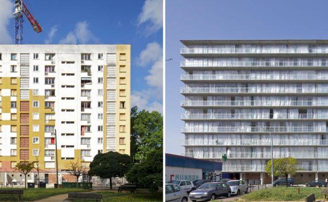 Nagrajena obnova treh stanovanjskih blokov s skupno 530 stanovanji, Grand Parc, Bordeaux, Francija Fotografiji Philippe Ruault