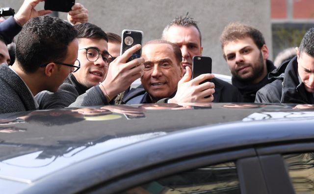 Celo Berlusconijevi ideološki zavezniki zato marsikdaj niso mogli skriti frustracije nad pravljično naravo njegovih obljub. FOTO: Alberto Lingria/Reuters