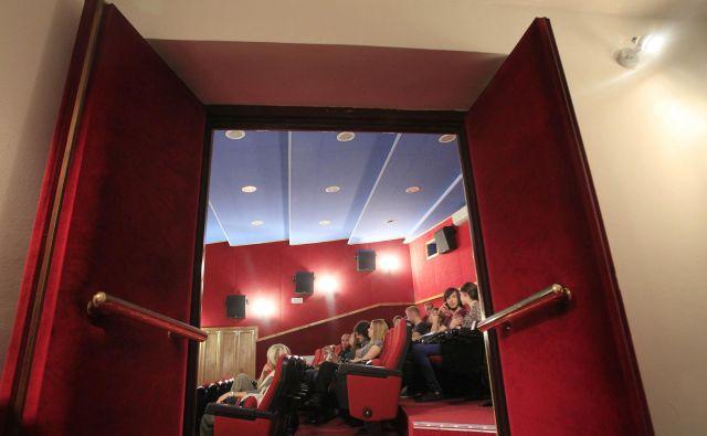 Kinodvorane se postopoma resda odpirajo, toda to ni več zdravo okolje. FOTO: Leon Vidic/Delo