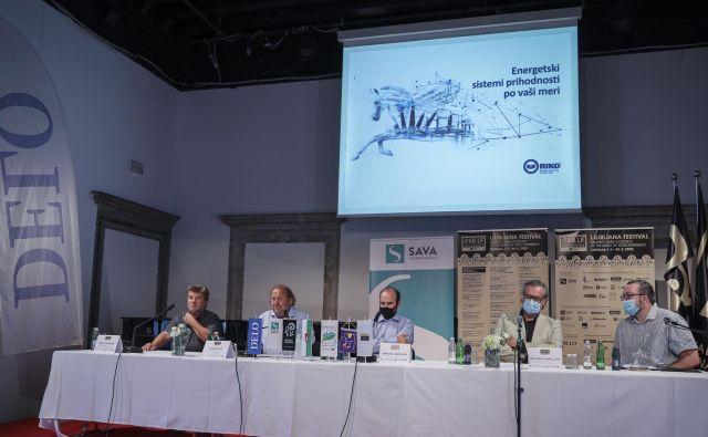 Z leve Branko Robinšak, Darko Brlek, Gianluca Marciano in Ricardo Zannelatto. Foto Jože Suhadolnik