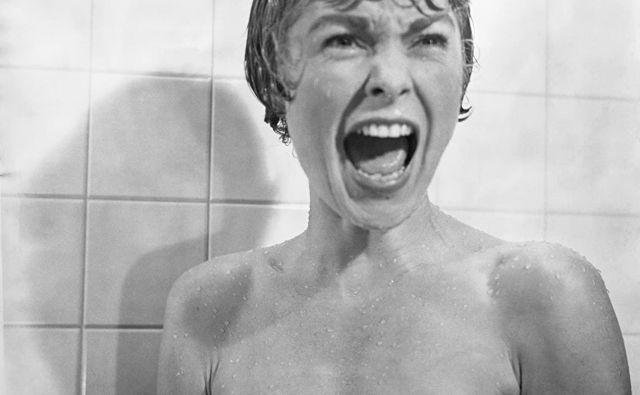 Marion Crane (Janet Leigh), ki je delodajalcu izmaknila večjo vsoto denarja, med begom najde zatočišče v obskurnem motelu Bates. Vsi vemo, kaj sledi. FOTO: Imdb