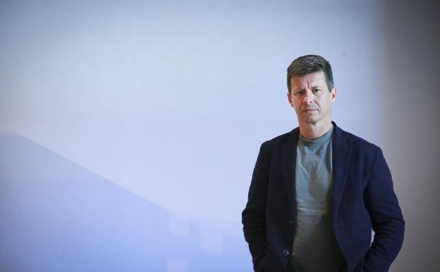 Dobitnik Plečnikove medalje za desetletno vodenje Muzeja za oblikovanje in arhitekturo Matevž Čelik. FOTO: Jože Suhadolnik