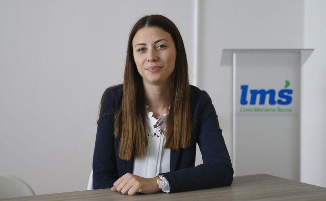 Irena Joveva je ta teden sprožila odziv stranke LMŠ in kritičnih medijev. FOTO: Jože Suhadolnik