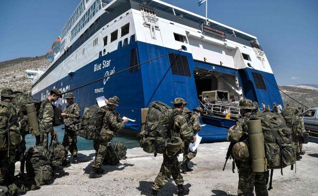V vzhodnem Sredozemlju ne kaže dobro. Stari svet se pospešeno militarizira. FOTO:Louisa Gouliamaki/AFP