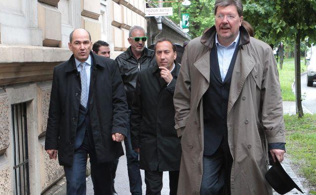 Igor je bil jasen: Z Janšo sva delala ključne korake za Slovenijo. FOTO: Jože Suhadolnik/Delo