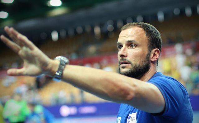 Novi trener Trima Uroš Zorman je svoje varovance popeljal do evropske zmage. FOTO: Jure Eržen