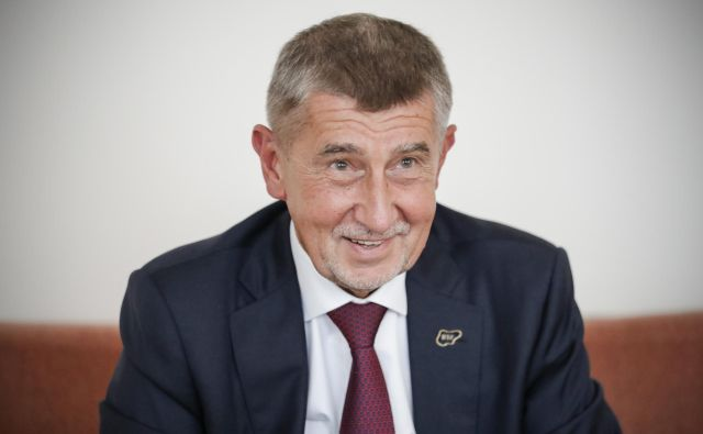 Češki premier Andrej Babiš je bil eden od vidnejših gostov letošnjega blejskega strateškega foruma. FOTO: Uroš Hočevar/Delo