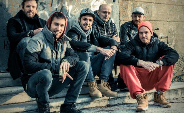 Orto fest odpirajo raperji T. M. S. Crew. Foto promocijsko gradivo