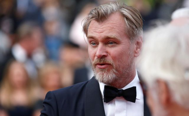 Režiser Christopher Nolan se je s časom v svojih filmih poigral že večkrat. FOTO: Stephane Mahe/Reuters