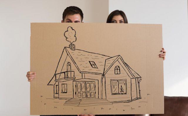 Danes je sanjska hišica čedalje težje dosegljiva.FOTO: Shutterstock